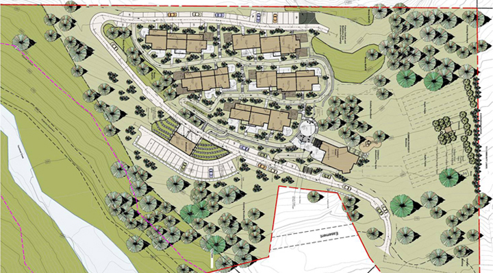 Site plan of the Belterra project.